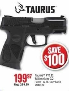 Taurus PT111 Millenium G2 Gun