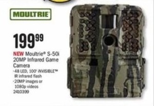 Moultrie S-50i 20MP Infrared Game Camera