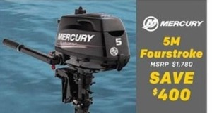 Mercury 5M Fourstroke