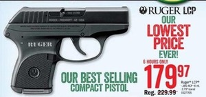 Ruger LCP Compact Pistol