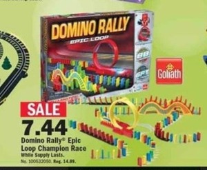 Domino Rally Epic Loop Champion Race
