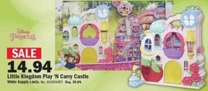 Little Kingdom Play 'N Carry Castle