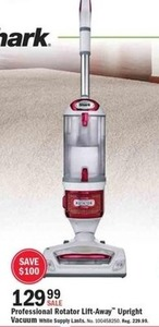 Shark Porfessional Rotator Lift-Away Upright Vacuum