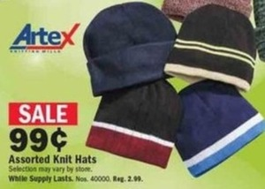 Assorted Knit Hats