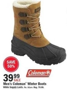 Men's Coleman Winter Boots