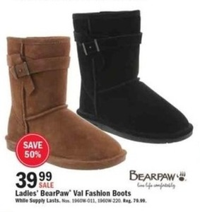 Ladies' BearPaw Val Fashion Boots
