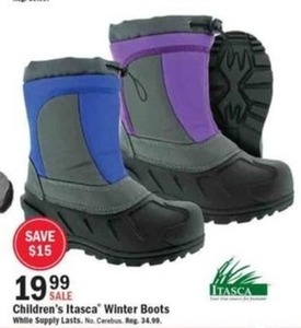 Children's Itasca Winter Boots