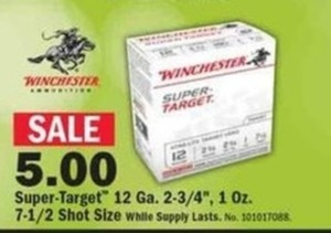 Winchester Super-Target Shells