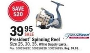 President Spinning Reel