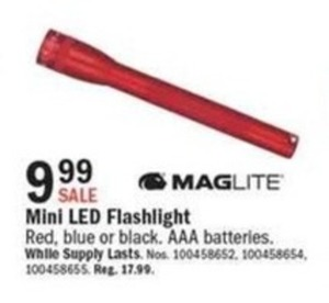 Maglite Mini LED Flashlight