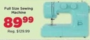 Full Size Sewing Machine