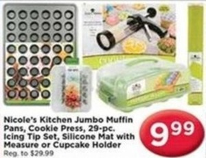 Select Nicole's Bakeware