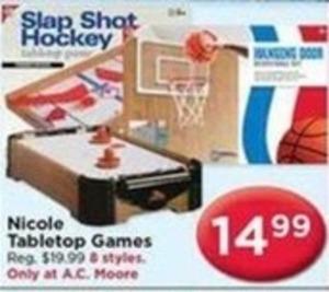 Nicole Tabletop Games