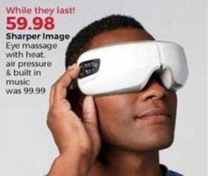 Sharper Image Eye Massager