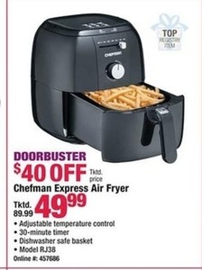 Chefman Express Air-Fryer