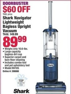 Shark navigator Lightweight Bagless Upright Vacuum