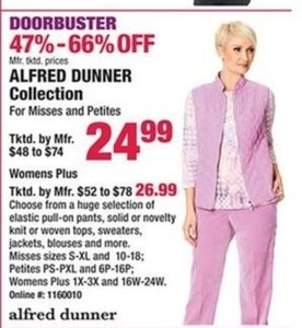 Alfred Dunner Collection