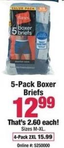 5pk Boxer Briefs