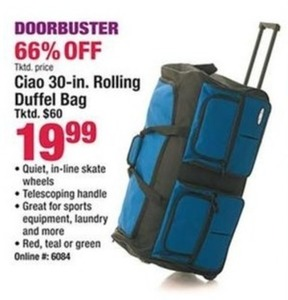 Ciao 30-in. Rolling Duffel Bag