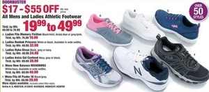 All Men's & Women's Athletic Footwear