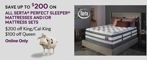 All Serta Perfect Sleeper Mattressess And/Or Mattress Sets
