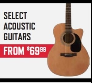 Select Acoustic Guitars