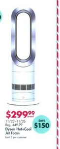 Dyson Hot+Cool Jet Focus