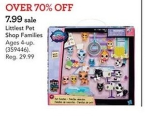 Littlest Pet Shop Family Pet Collection Set
