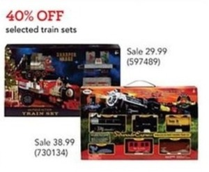 Selected Train Sets