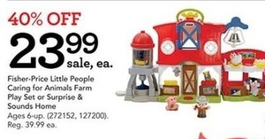 Fisher-Price Little People Surprise and Sounds Home