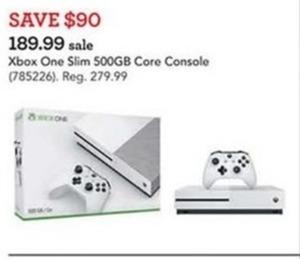 Xbox One Slim 500GB Core Console