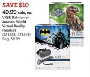 Jurassic World VRSE Virtual Reality Game
