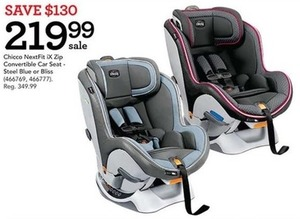 Chicco NextFit iX Zip Convertible Car Seat
