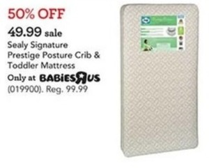 Sealy Signature Prestige Posture Crib & Toddler Mattress