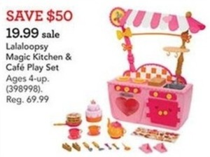 Lalaloopsy Magic Kitchen & Cafe Play Set