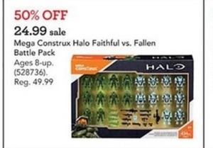 Mega Construx Halo Faithful vs. Fallen Battle Pack