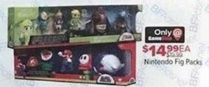 Nintendo Figure Packs