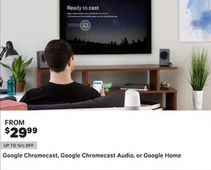 Google Chromecast, Google Chromecast Audio, Or Google Home