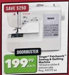 Singer Patchwork Sewing and Quilting Machine