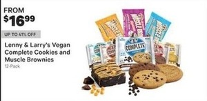 Lenny Larry's Vegan Complete Cookies And Muscle Brownies
