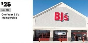 One Year BJs Membership