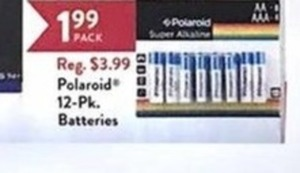 Polaroid Batteries 12-Pk.