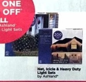 Net, Icicle & Heavy Duty Light Sets