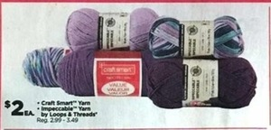 Craft Smart & Impeccable Yarn