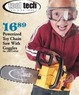 Mills Fleet Farm Tool Tech Powerized Toy Chain Saw With Goggles