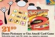 Mills Fleet Farm Disney Uno Attack! Card Game