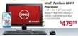 hhgregg Dell IO20204167BK All-in-One Desktop w/ Intel Pentium CPU, 4GB RAM & 500GB HDD