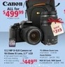 hhgregg Canon REBELT3BNDW 12.2MP DSLR Camera w/ 18-55mm Lens, 8GB Memory Card, 75-300mm Lens & Case