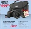 hhgregg Nikon D5100KITBNDW 16.2MP DSLR Camera w/ 18-55mm Lens, 55-200mm Lens, Starter Kit & 8GB Memory Card