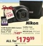 hhgregg Nikon COOLPIXP510B 16MP Backlit CMOS Camera